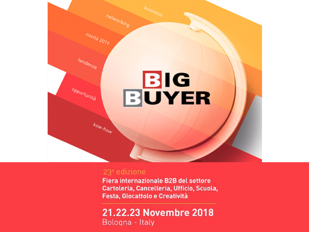 fiera big buyer bologna novembre 2018