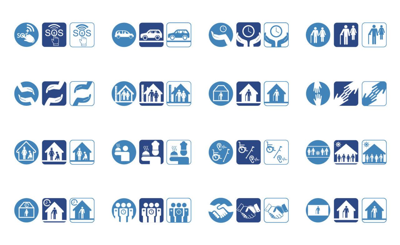 progettazione grafica icone