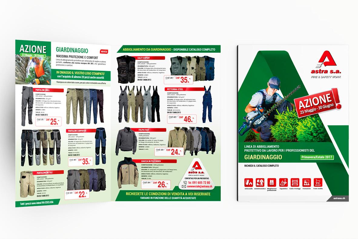 impaginazione grafica brochure