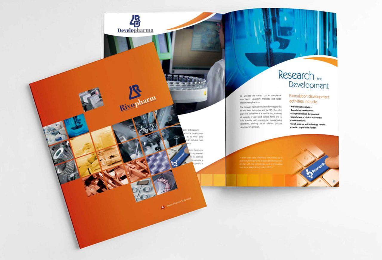 graphic design catalogo