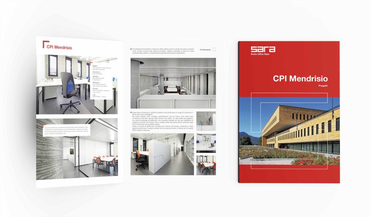 progettazione grafica brochure pieghevoli
